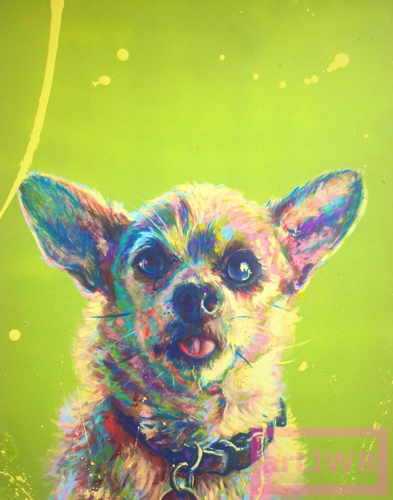 Lucky by Jacob Wayne Bryner artJWB