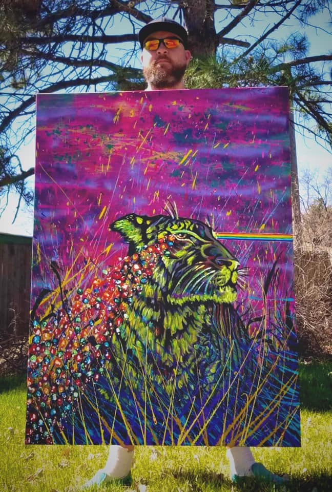 Witness the Tears of the Luck Tiger by Jacob Wayne Bryner artJWB