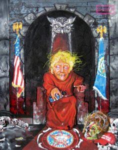 DRUMPF FTBONR painting by Jacob Wayne Bryner #artJWB