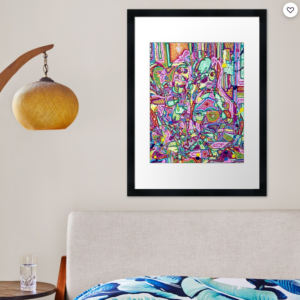 YOU ARE WHAT YOU EAT art print by Jacob Wayne Bryner artJWB